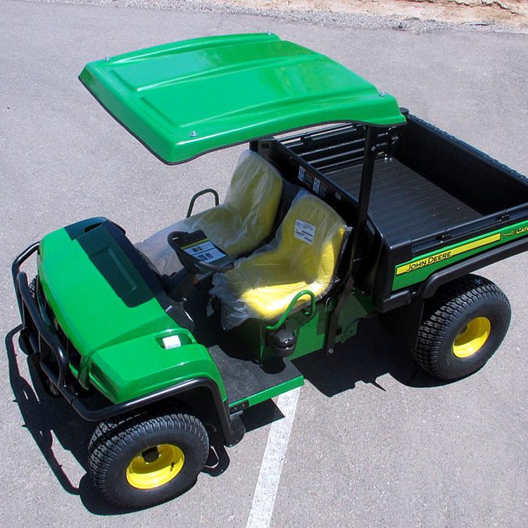 John Deere Gator Accessories >> Gt1 Fiberglass Canopy Fits John Deere Gator T Series Ts Tx Te Th