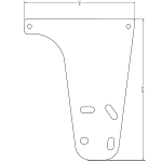 MOUNTING PLATE: FITS 2