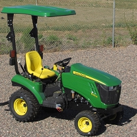 KIT: TX1 Canopy Kit.  Fits John Deere Sub-Compact & Compact Tractors