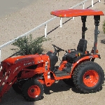 KIT: TX2 Canopy Kit for BX & B Series Tractors with Roll Bars 28