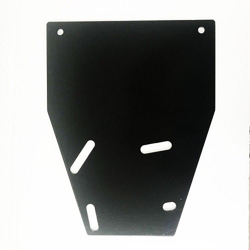"Mounting Plate:  5"" x 2"" Vertical Roll Bar (Single)"