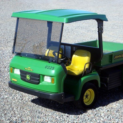 GTW04  Acrylic Windshield for the John Deere Pro - Gator (Requires Canopy)
