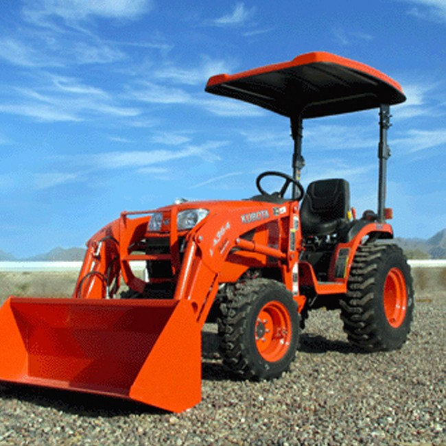 KIT: TAP102 Canopy Kit for Kubota BX, B Tractors & F Series Mowers