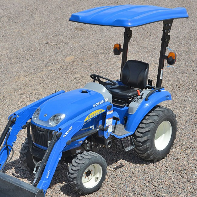 KIT: TAP105 Series Canopy Kit.  Fits New Holland Compact Tractors